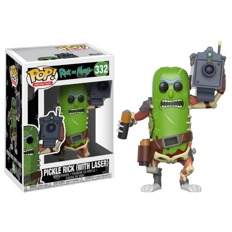 Pickle Rick (with Laser)