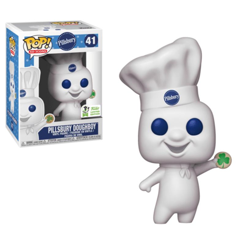 Pillsbury Doughboy (Shamrock Cookie) [ECCC]