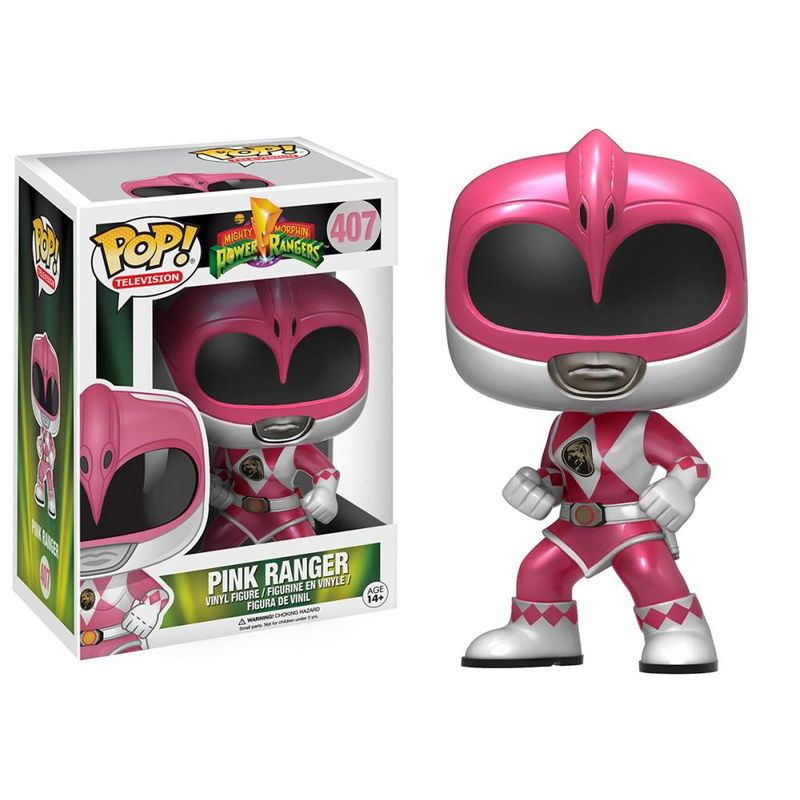 Pink Ranger (Metallic) (Action Pose)