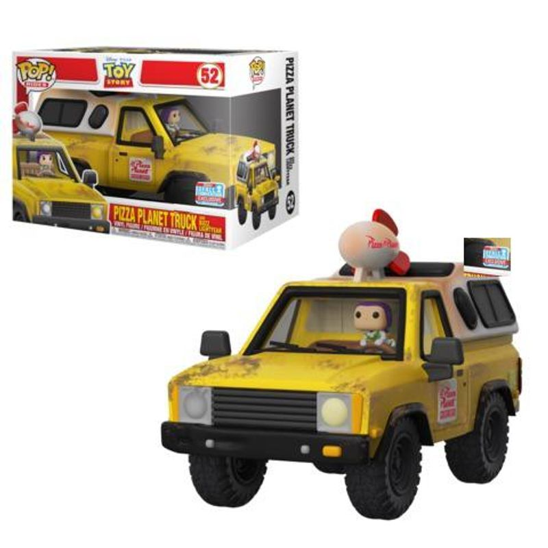 Pizza Planet Truck With Buzz Lightyear [Fall Convention]