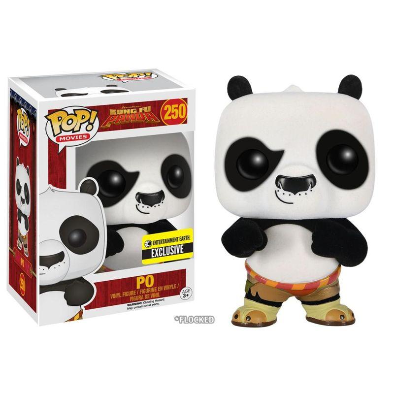 Po (Kung Fu Panda - Flocked)