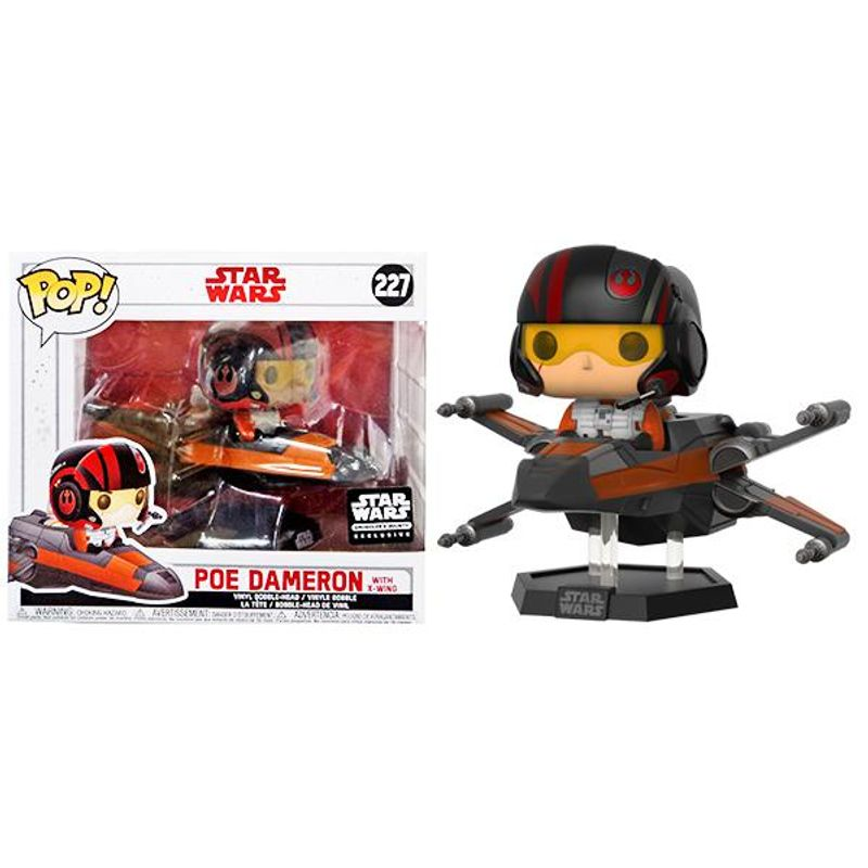 Poe Dameron with X-Wing