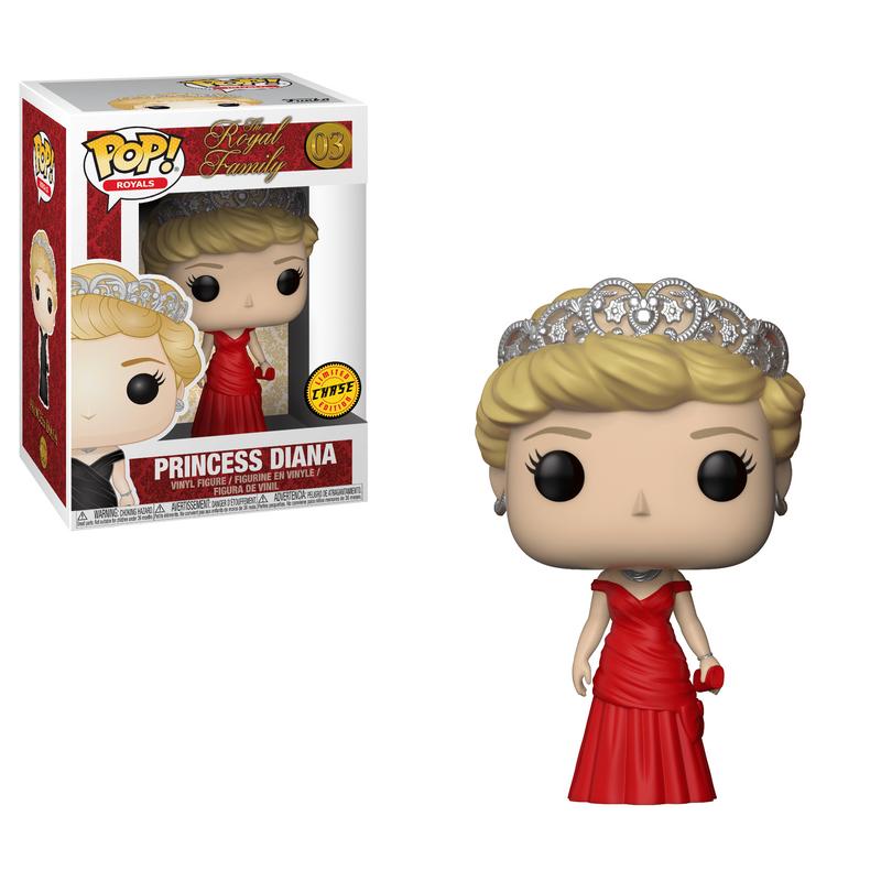 Diana, Princess Of Wales (Red Dress)
