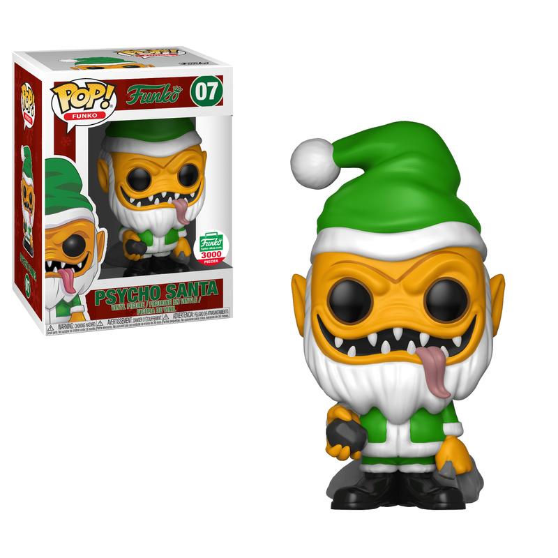 Psycho Santa (Green)