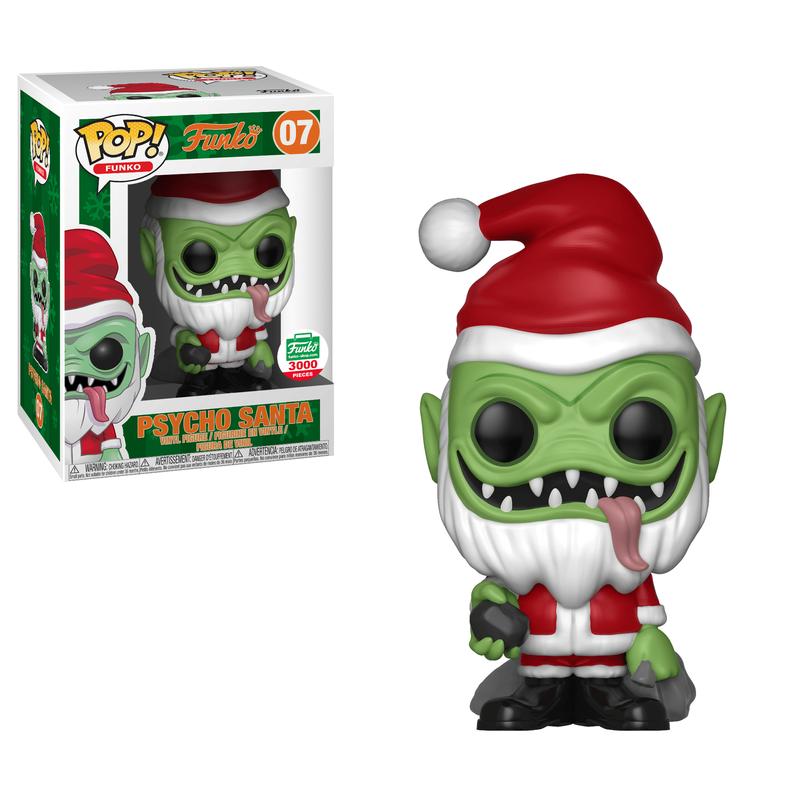 Psycho Santa (Red)
