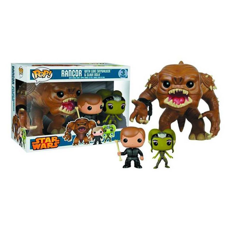 Rancor, Luke Skywalker, & Oola (3-Pack)