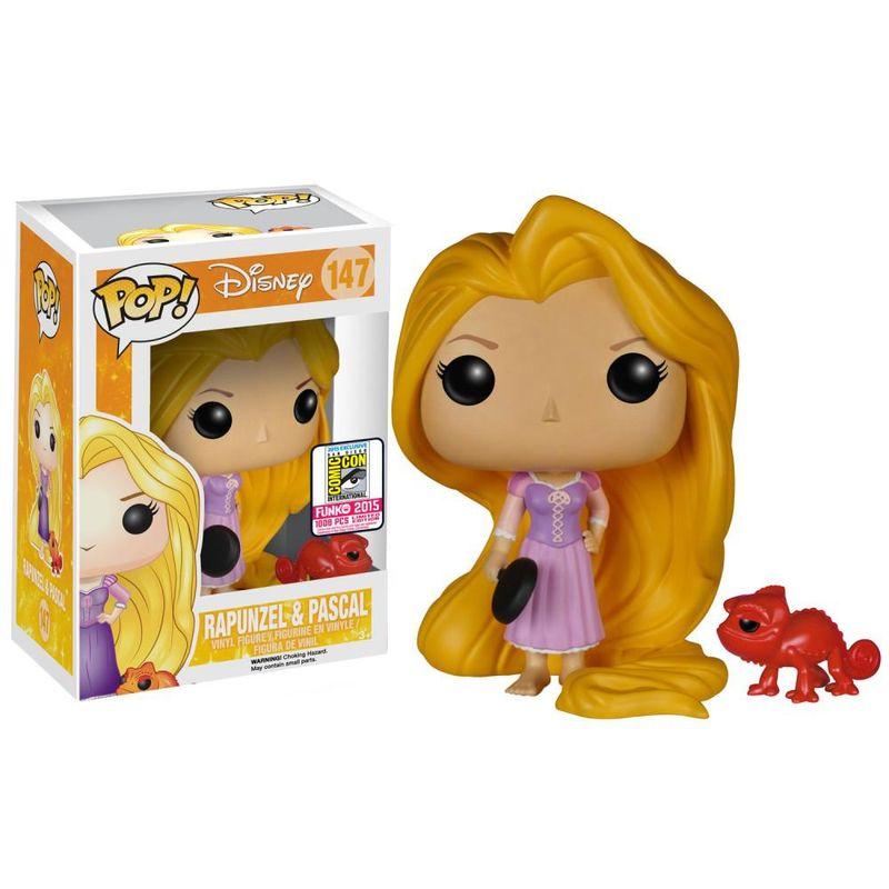 Rapunzel (w/ Frying Pan) & Pascal (Red)