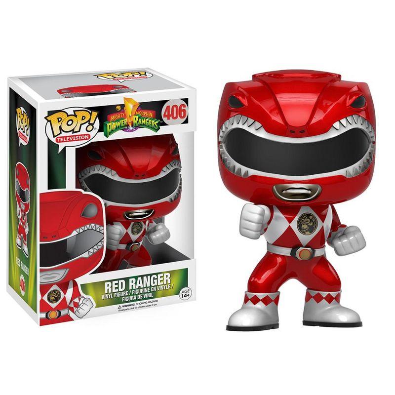 Red Ranger (Metallic) (Action Pose)