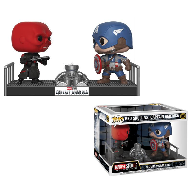 Red Skull vs. Captain America (Moments)