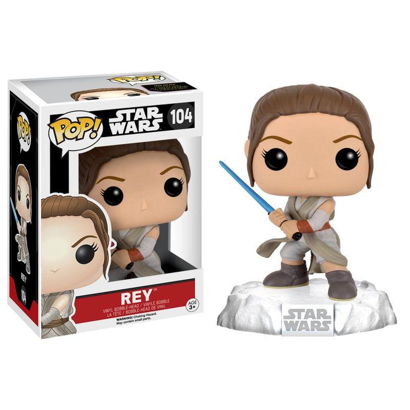 Rey (w/ Lightsaber)