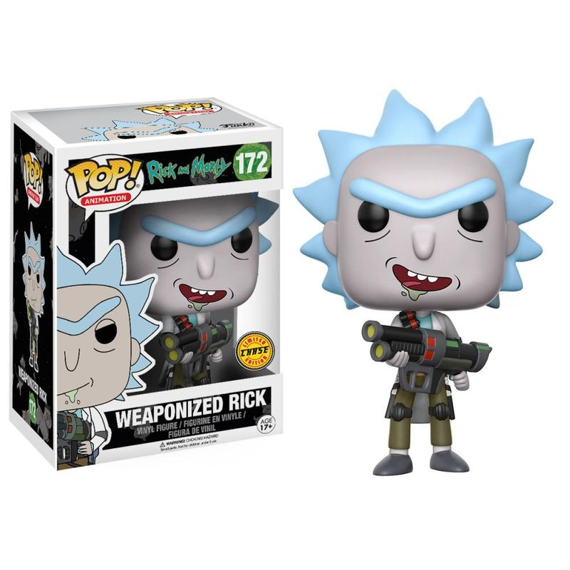 Weaponized Rick (Open Mouth)