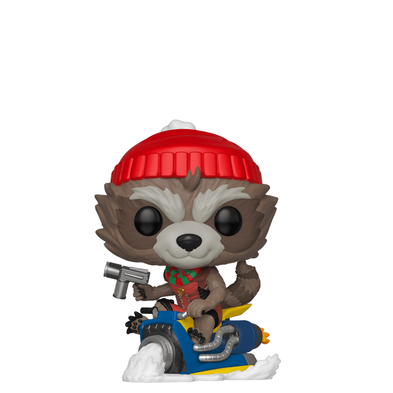 Rocket Raccoon (Snowmobile)