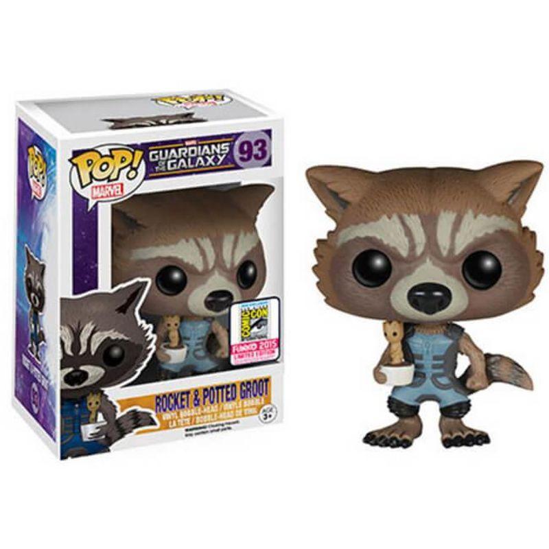 Rocket Raccoon (Nova) & Potted Groot