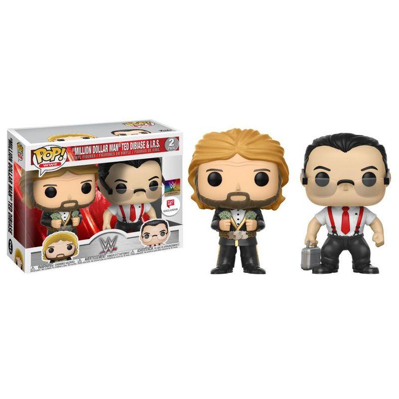 """Million Dollar Man"" Ted DiBiase & I.R.S. (2-Pack)"