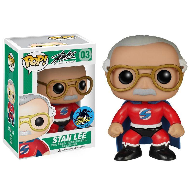 Stan Lee (Superhero) (Red)