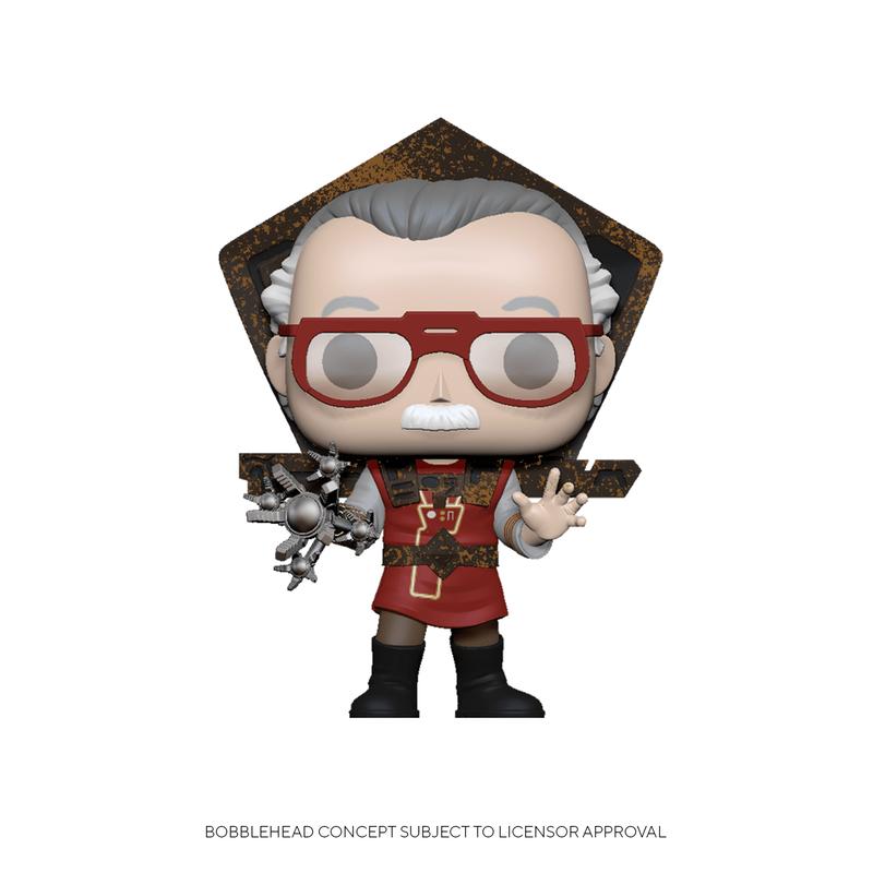Stan Lee in Ragnarok Outfit