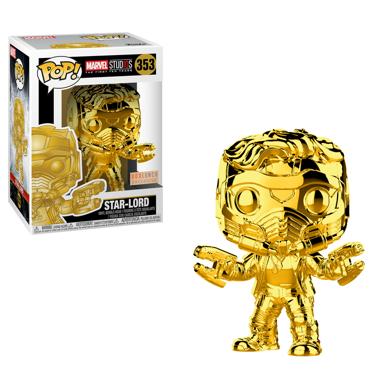 Star-Lord (Gold Chrome)