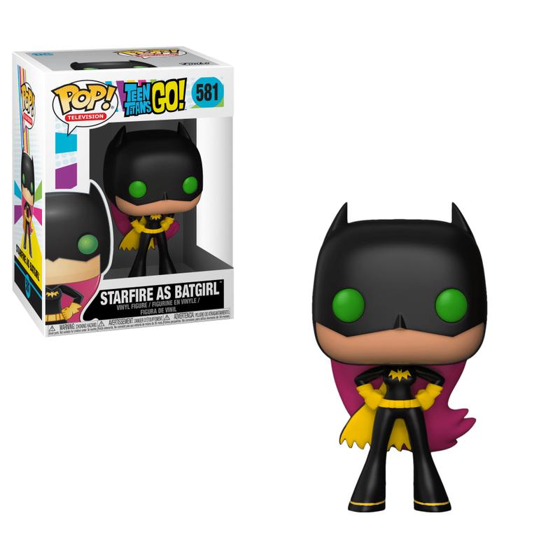 Starfire as Batgirl