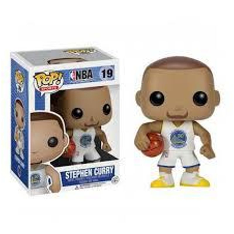 Stephen Curry (White Jersey)