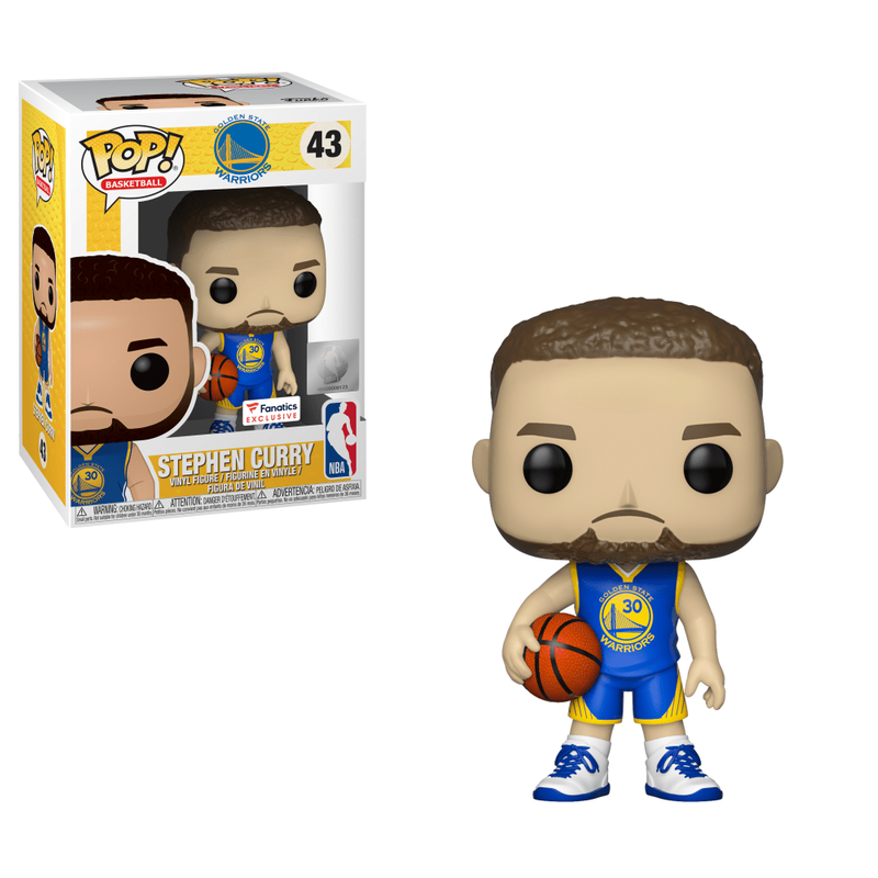 Stephen Curry (Blue Jersey)