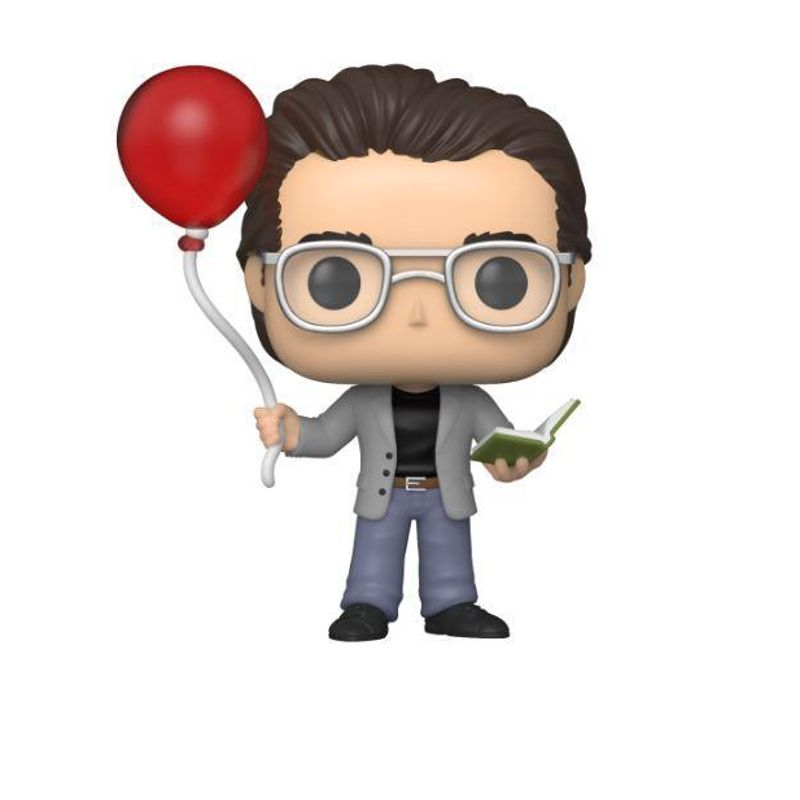 Stephen King with Red Balloon