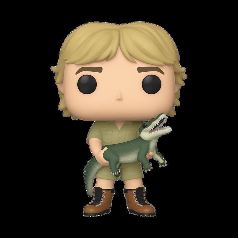 Steve Irwin (with Crocodile)