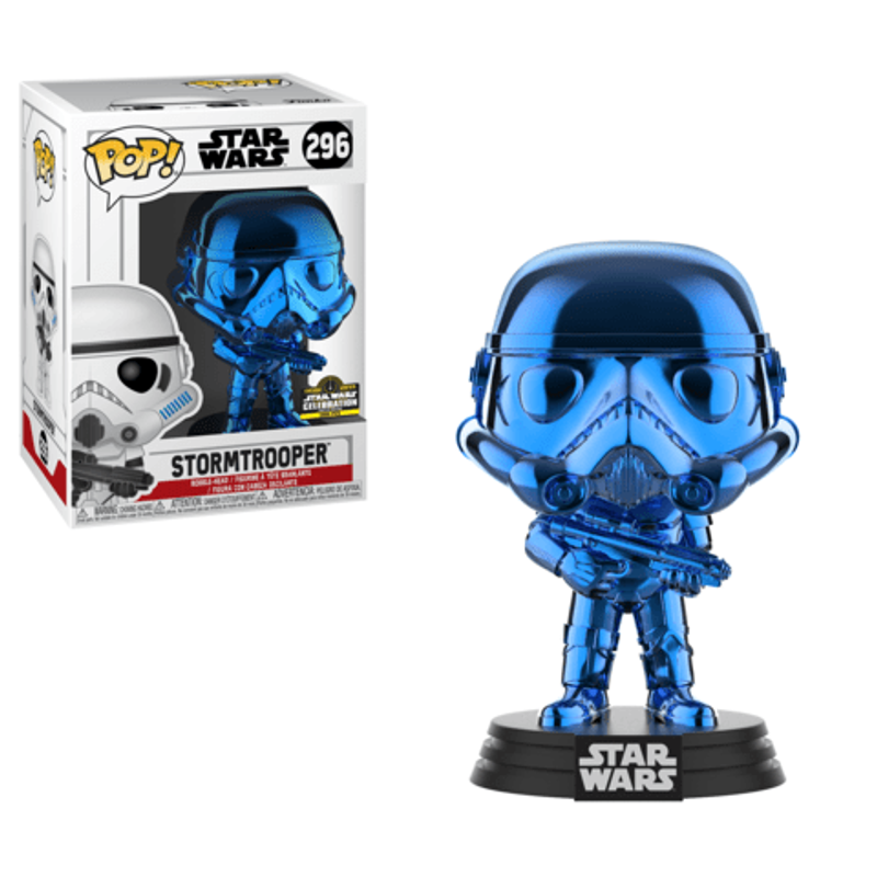 Stormtrooper (Blue Chrome) [Celebration]