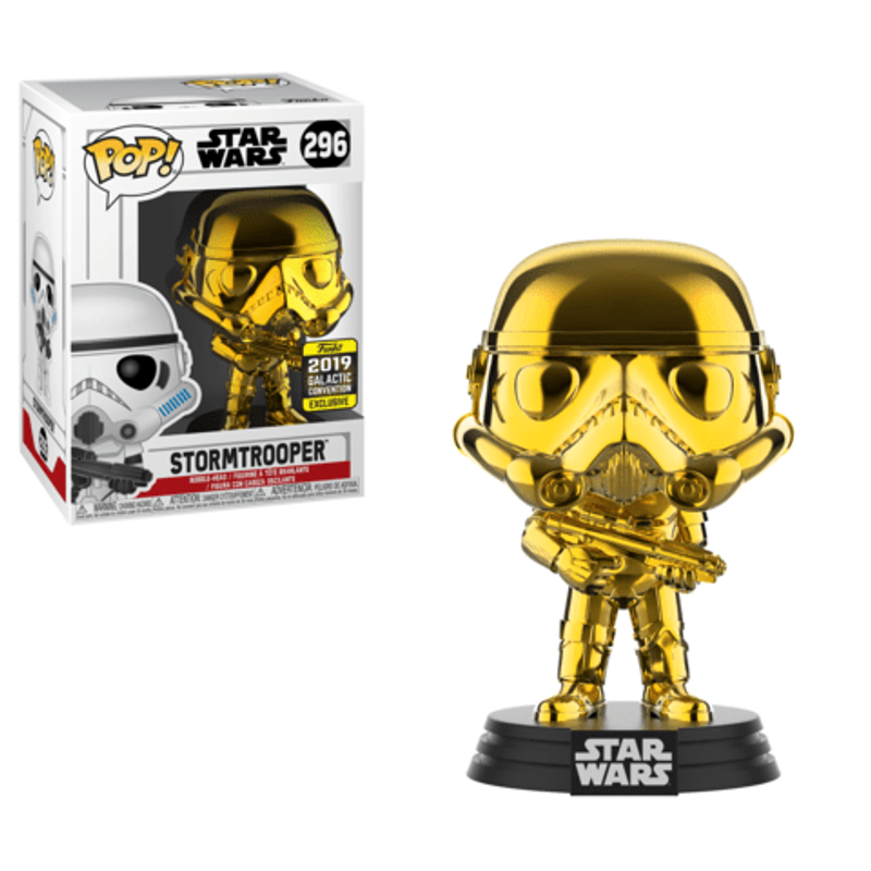 Stormtrooper (Gold Chrome) [Galactic Convention]