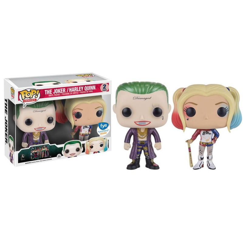 The Joker (Boxer) & Harley Quinn (Suicide Squad) (Metallic) (2-Pack)
