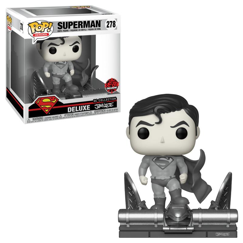 Superman (Jim Lee Deluxe) (Black & White)