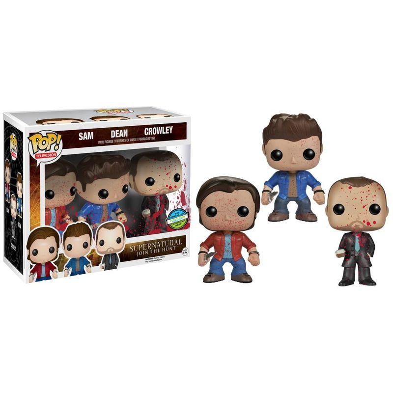 Sam, Dean, & Crowley (Bloody) (3-Pack)