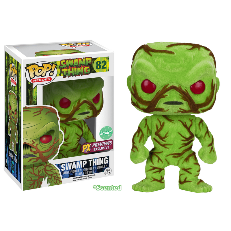 Swamp Thing (Flocked) (Scented)