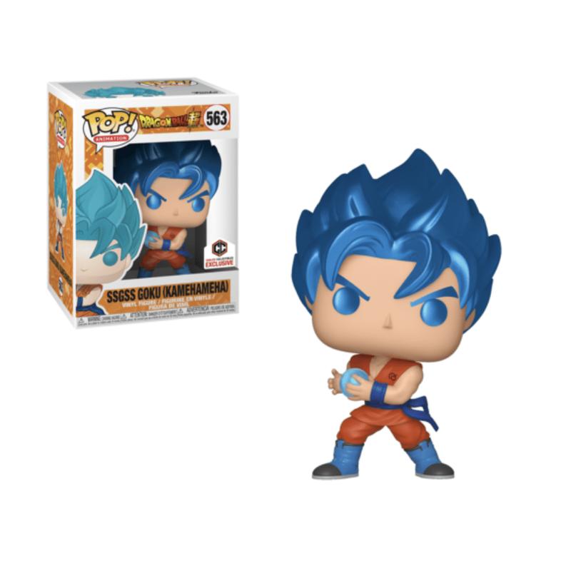 SSGSS Goku (Kamehameha)