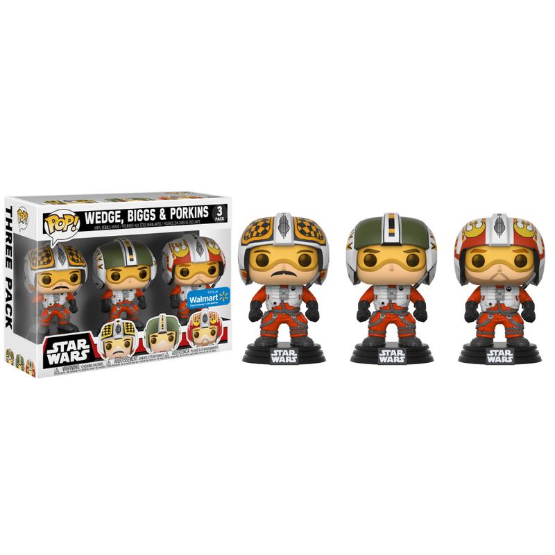 Star Wars Biggs, Wedge, & Porkins (3-Pack)