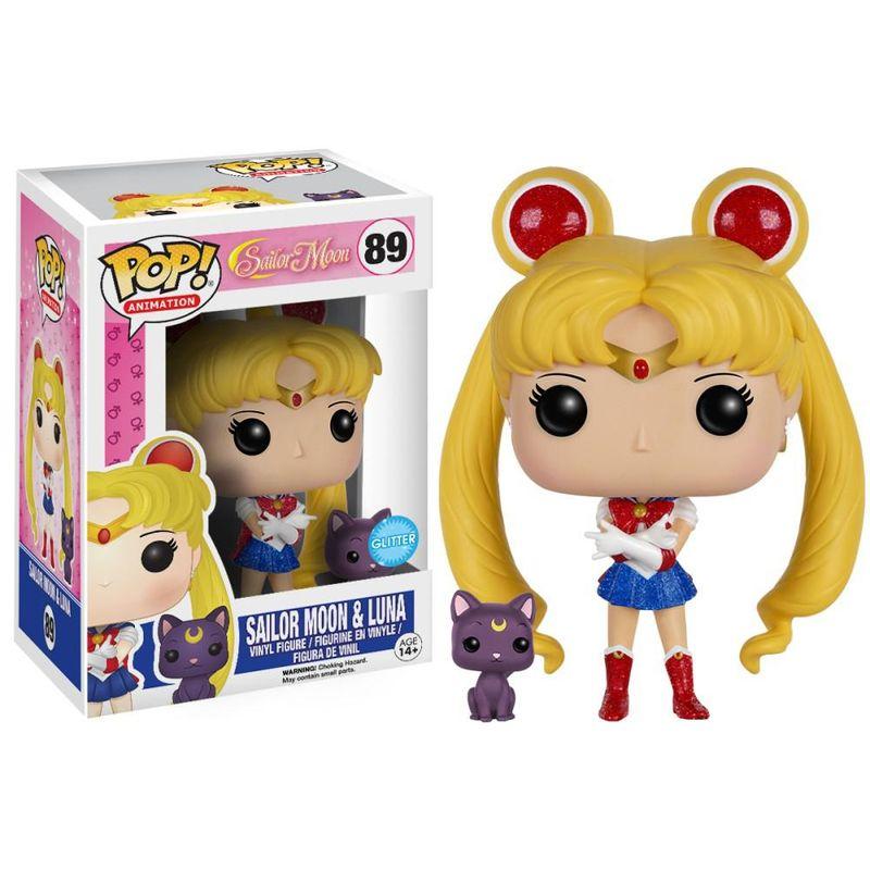 Sailor Moon (w/ Luna) (Glitter)