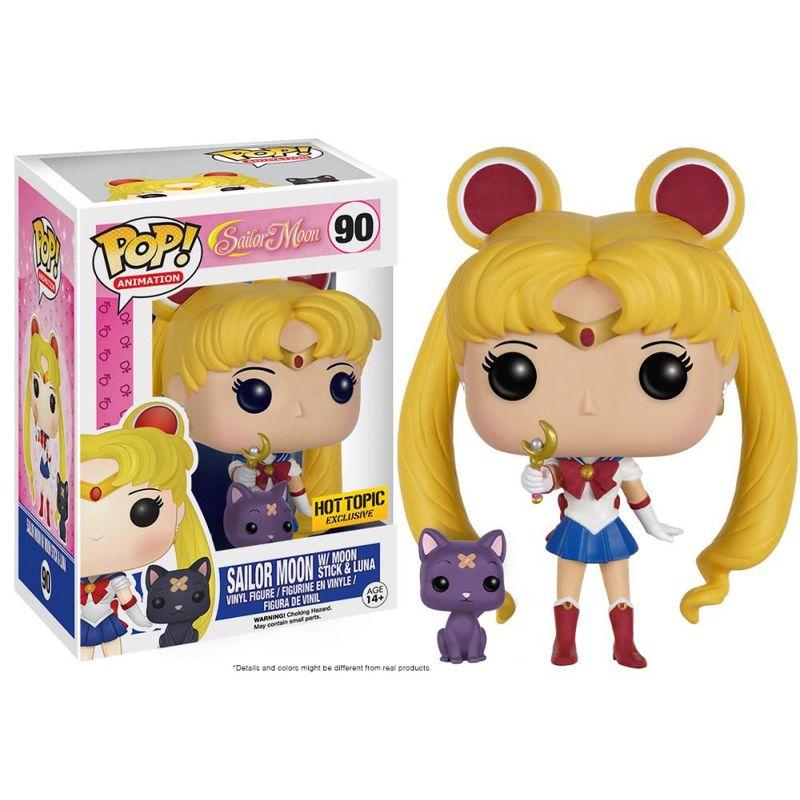 Sailor Moon (w/ Moon Stick & Luna)