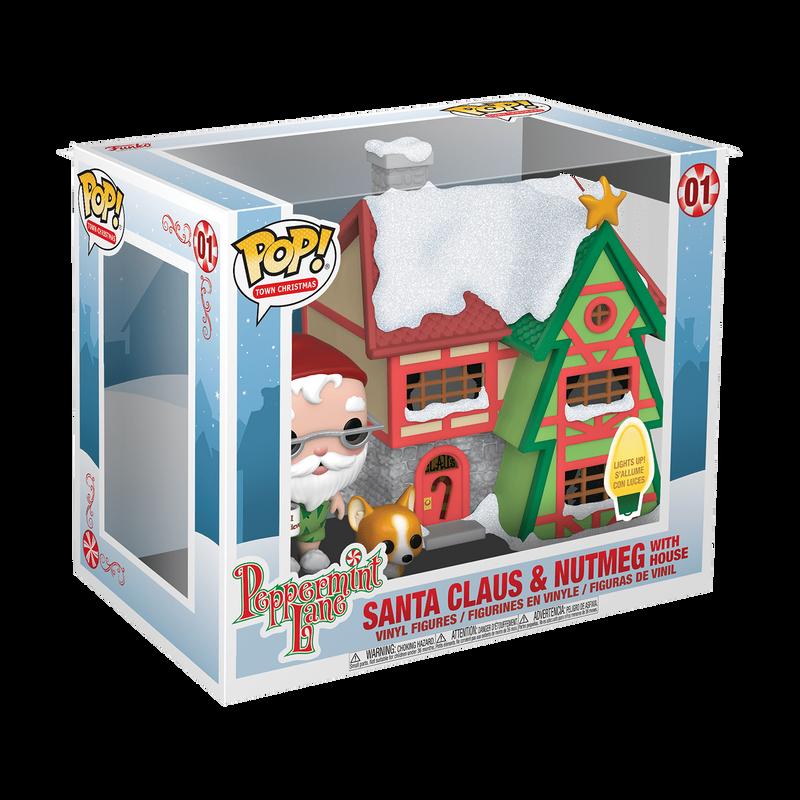 Santa Claus & Nutmeg with House