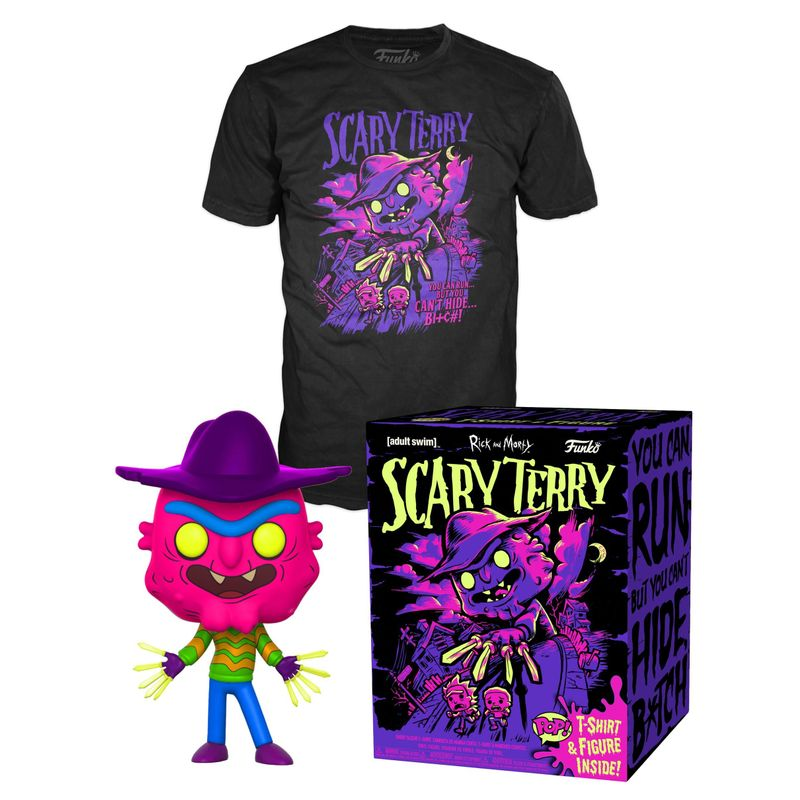 Scary Terry (Neon) with Scary Terry Tee