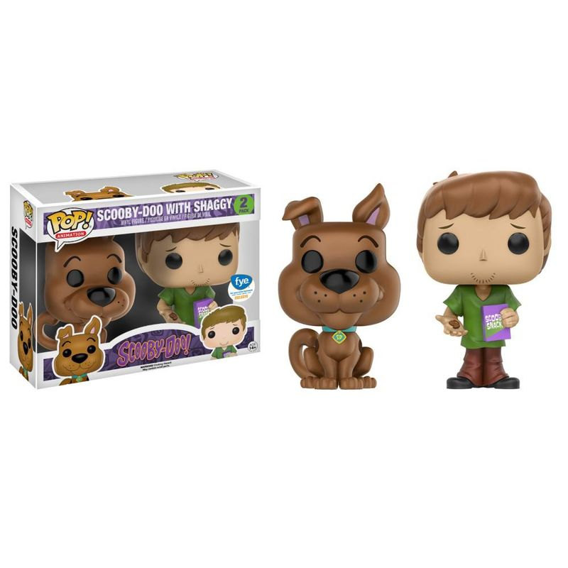 Scooby-Doo With Shaggy (2 Pack)