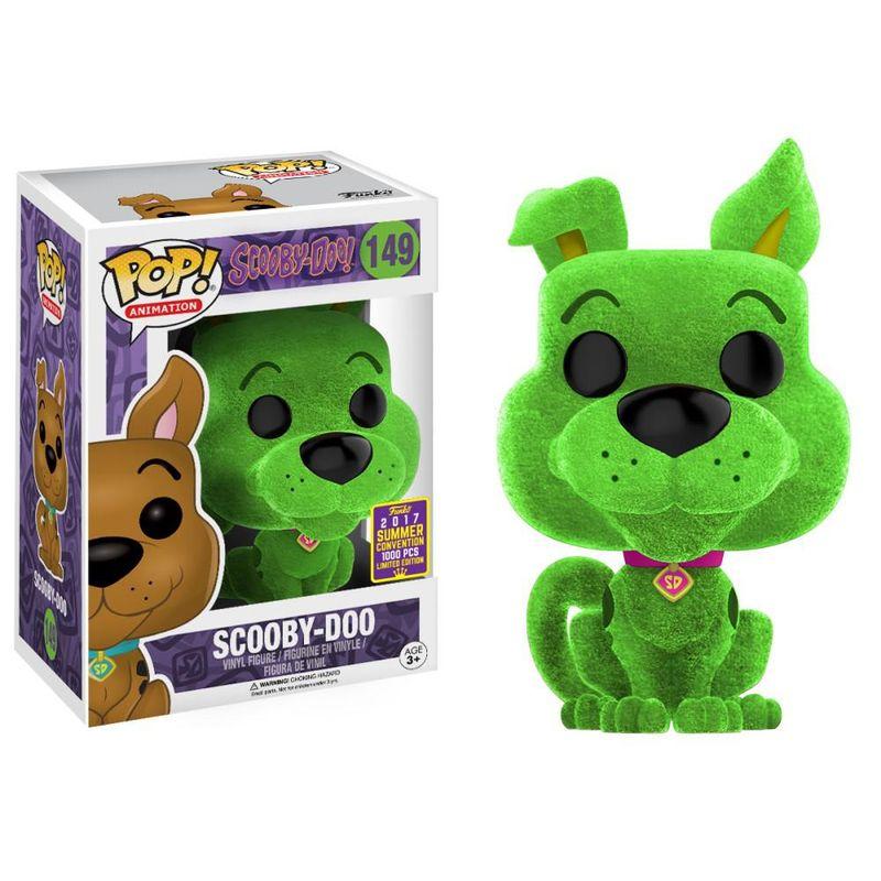 Scooby-Doo (Flocked) (Green)