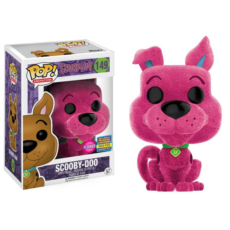 Scooby-Doo (Flocked) (Pink)