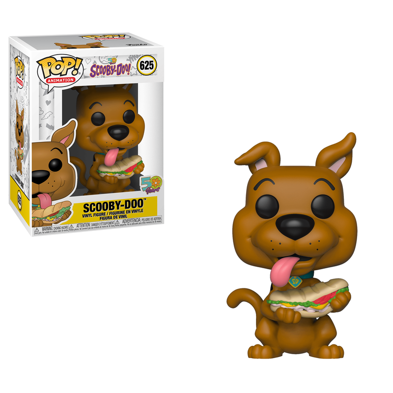 Scooby-Doo (with Sandwich)
