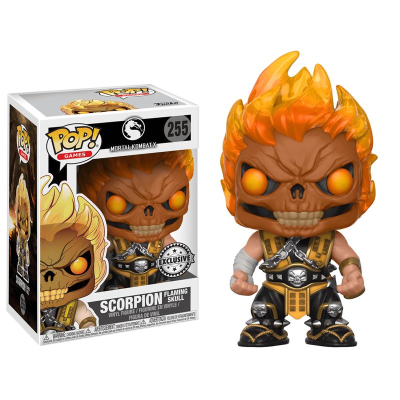 Scorpion (Flaming Skull)