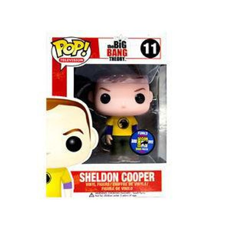 Sheldon Cooper (Hawkman Shirt)