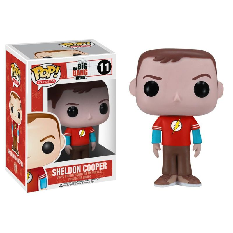 Sheldon Cooper (Flash Shirt)
