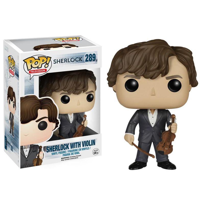 Sherlock Holmes (w/ Violin)
