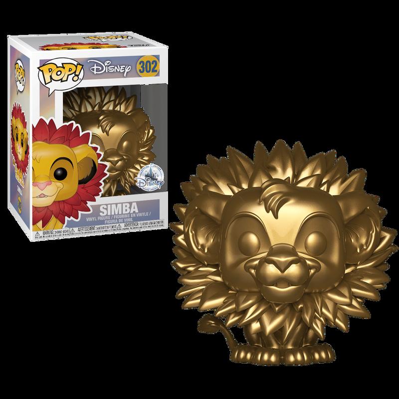 Simba (Leaf Mane) (Gold)