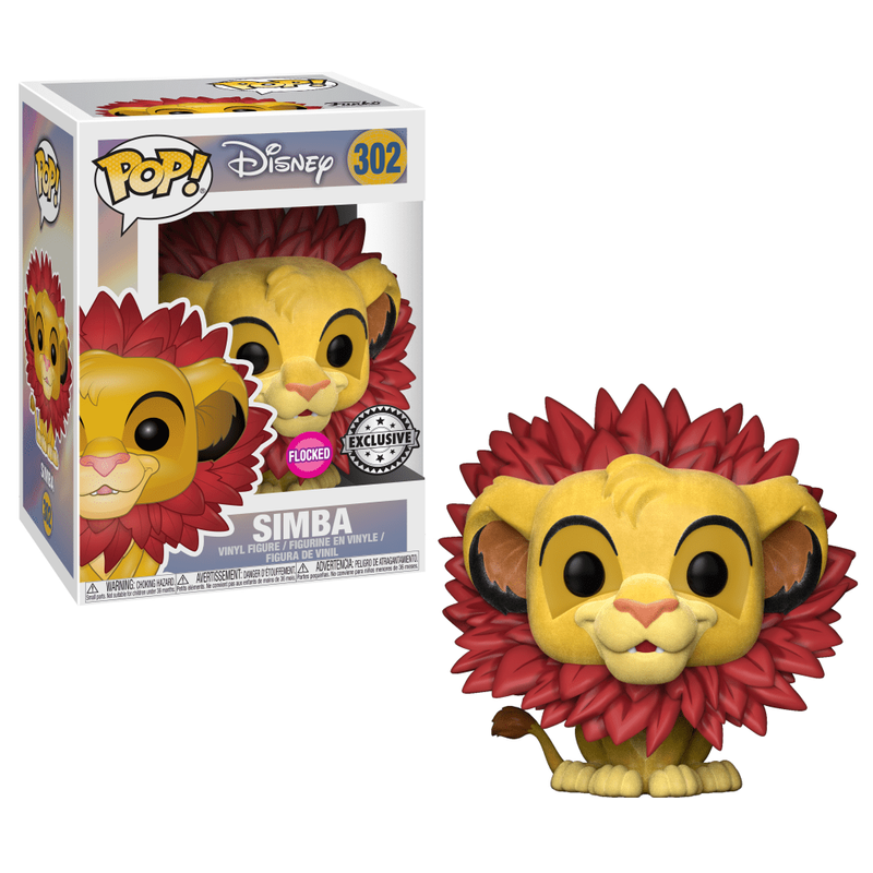Simba (Leaf Mane) (Flocked)