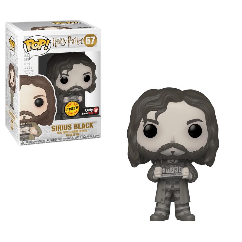 Sirius Black (Prisoner) (Black & White)