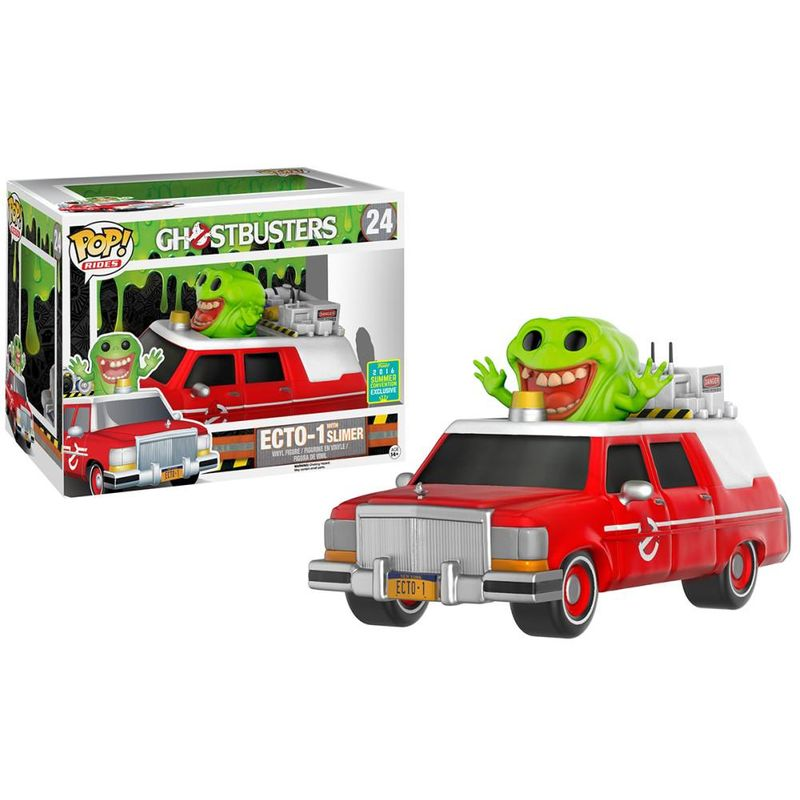 ECTO-1 (Red) w/ Slimer